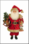 CC16-181 Lighted Carousel Dreams Santa