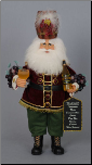CC18-11 Wine Barrel Santa