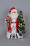 CC18-18 Lighted Arcadian Christmas Santa
