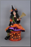 HASC-01 Lighted Halloween Glow Witch