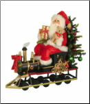 SC-45  Lighted Merry Christmas Train
