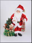 CC18-43 Lighted Ho Ho Ho Santa