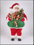 CC36-19 Lighted Bearing Gifts Santa