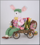 SP032  Flower Express Bunny Rabbit