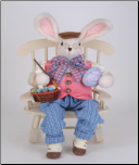 SP036  Artist Bunny Rabbit with Chair